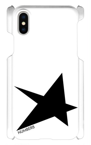 Number8(ナンバーエイト) BIG STAR(星柄)iPhoneケース for iPhone10
