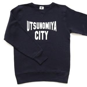 スウェット UTSUNOMIYA CITY ネイビー