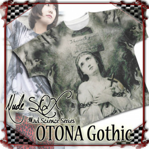NDW-OG.001 OTONA Gothic project Printed BIG T<火刑のジャンヌダルク/Joan of Arc at the stake>