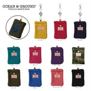 Ocean&ground リール付きパスケース 1625903