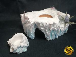 No.212 A-S ウェットシェルター 2穴 ディッシュセット(氷山)