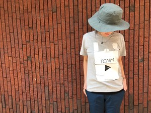 【and wander】TCNM vinalbag T by toconoma