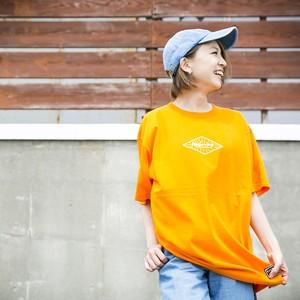 Emblem T-shirt  Orange