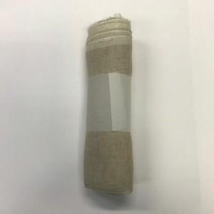 品番(N28LG)麻100%ガーゼ生機(生地)(巾130cm*1m)
