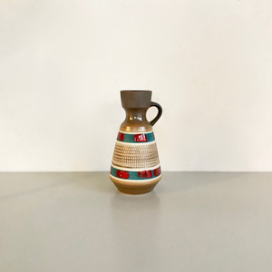 """Vintage W.Germany Pottery Vase """"Dümler & Breiden"""" 303-16 西ドイツ"""