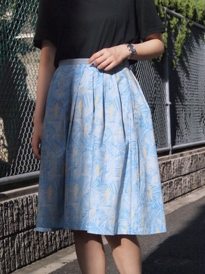 "rikolekt ""before"" TACK SKIRT blue"
