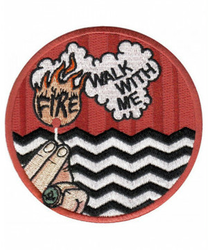 """labarbuda""""TWIN PEAKS FIRE WALK WITH ME PATCH"""""""