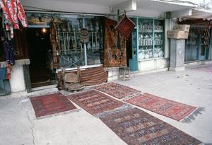 カブールの商店