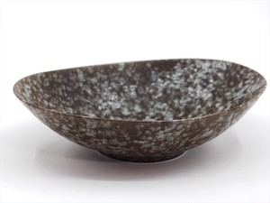 sino・nome/oval bowl-gray