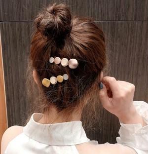 5520髪飾り   ヘアアクセサリー ヘアクリップ ヘアピン かわいい  6個セット