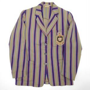 【Selen Boggis】40~50s' Regimental Stripe Jacket