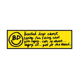 BD Bumper Sticker