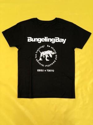 BungelingBay Tシャツ(ブラック×白字バックプリントLove&Humor)
