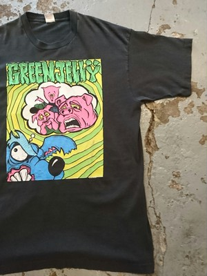 "90s"" GREEN JELLY "" TEE"
