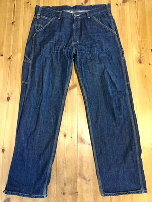 carhartt カーハート デニム ペインターパンツ 濃紺 ネイビー 36インチ 91cm ビックサイズ 大きめ ワーク