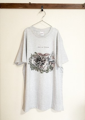 〝jasmine〟 T-shirt・ライトグレー