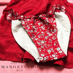 【MANGETSUDO-RED】whiteflower