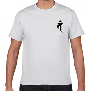 梵字Tシャツ白 大日如来