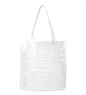 【APPLEBUM】Value Clear Totebag