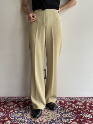 (TOYO) polyester straight pants