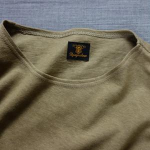 da cotton-belgiumlinen halfsleeve / belgiumbeige