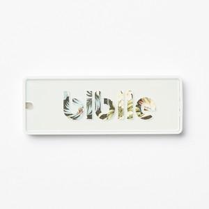 見守りタグ biblle(ビブル)/トロピカル×ホワイト