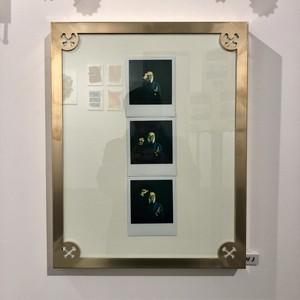 真鍮額 『クロスボーン』by HOTDOG