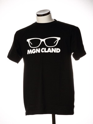 MGN CLAND Tシャツ 黒
