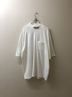 【RICE NINE TEN】MOCK NECK OVER SLEEVE TEE