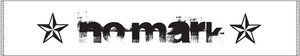 NO MARK 「Logo Muffler Towel」