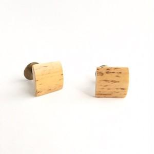 シングルリードのカフリンクス Reed cuff links #2