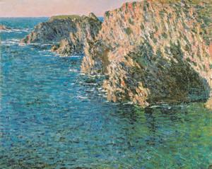 クロード・モネ「ポール=ドモワの洞窟」絵はがき
