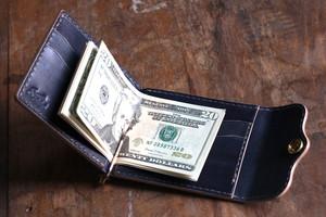 """""""INDIGO"""" Money Clip Wallet マネークリップウォレット"""