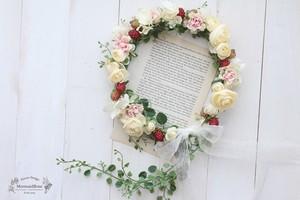 フルーツ花冠*ラナンフリルローズベリー
