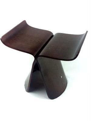 バタフライスツール ブラウン リプロダクト品 スツール 家具 椅子 お洒落 ウッド チェア プレゼント ギフト 贈り物 インテリア ベンチ