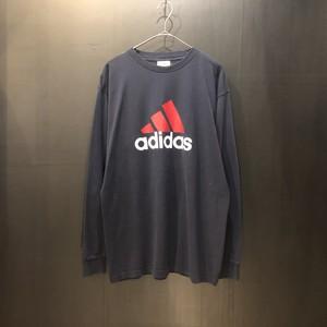 Adidas logo print L/S T-shirt