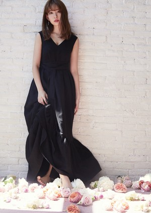 Frill Maxi N/S One-Piece
