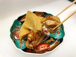 裏山筍と地鶏の旨煮