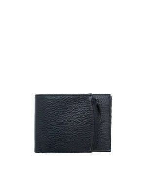 MAISON MARGIELA Leather Wallet Black/Black  S35UI0436