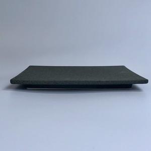 芳泉窯 美濃焼「TOKI」シリーズ S-plate マットブラック *