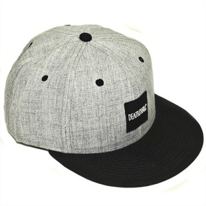BOX LOGO CAP GRAY
