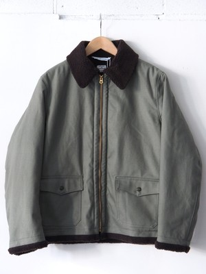 N.O.UN Bomber Cotton Gray,Navy