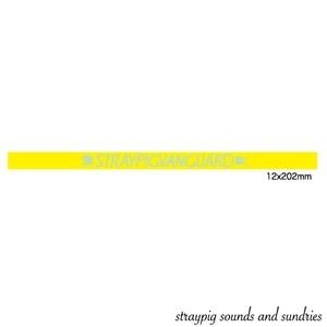 シリコンバンド / 黄