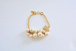 【S】エス ブレスレット  gold(S1512)