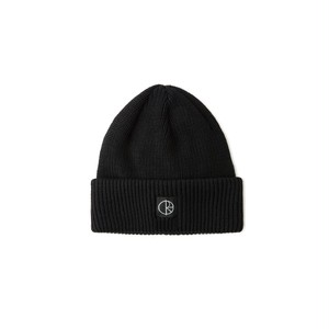 POLAR SKATE CO / DOUBLE FOLD MERINO BEANIE -BLACK-
