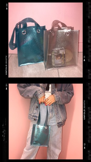 【Handmade】Glitter Tote Bag