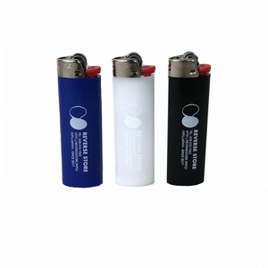 Reverse Store Bic Lighter - black - blue - white