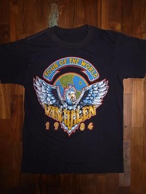 VAN HALEN 1984 TOUR T-SHIRTS