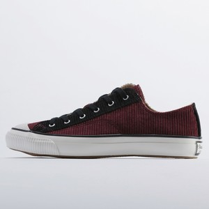 SHELLCAP LOW COLOR COMBI - BLACK/BURGUNDY