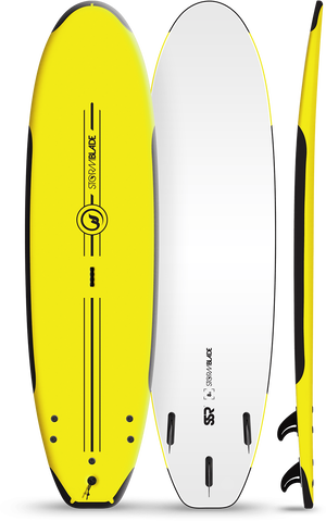 Storm Blade 8ft SSR Surfboard / Yellow